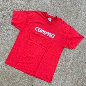 Vintage 90's Compaq Computers T Shirt